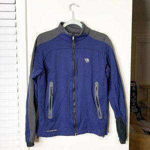 Mountain Hardwear Navy Jacket Gore Windstopper